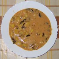 Hubová polievka na sladkokyslo