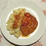 Bravčové mäso s paprikovou pastou