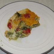 Brokolica pečená so syrom