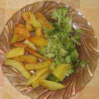 Brokolica so zemiakmi