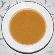Polievka z červenej šošovice a mrkvy