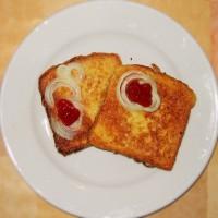 Vyprážaný chlieb vo vajci