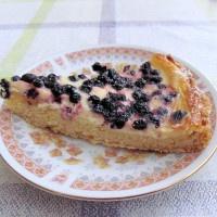 Čučoriedkový koláč