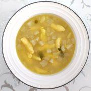 Výborná kalerábová polievka