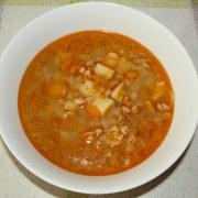 Krúpková polievka