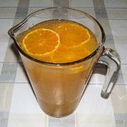 Mandarinkový nápoj