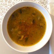 Rýchla šampiňónová polievka
