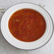 Fazuľová polievka z Talianska
