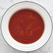 Talianska paradajková polievka