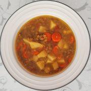Voňavá šošovicová polievka