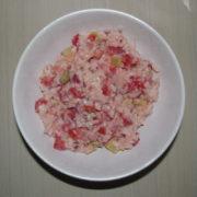 Zeleninový šalát s ryžou