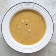 Zemiaková polievka so smotanou